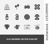 modern  simple vector icon set... | Shutterstock .eps vector #1151390945