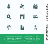 modern  simple vector icon set...   Shutterstock .eps vector #1151391152