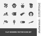 modern  simple vector icon set... | Shutterstock .eps vector #1151393162