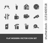modern  simple vector icon set... | Shutterstock .eps vector #1151400518