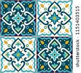 Italian Tile Pattern Vector...