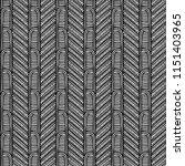 maori tribal pattern vector... | Shutterstock .eps vector #1151403965