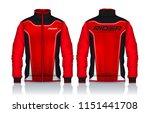 jacket design sportswear track...   Shutterstock .eps vector #1151441708