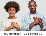 people and gratitude concept.... | Shutterstock . vector #1151448572
