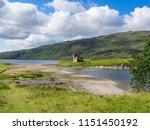 ardvreck castle  loch assynt ... | Shutterstock . vector #1151450192