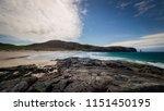 sandwood beach  northern... | Shutterstock . vector #1151450195
