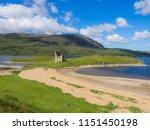 ardvreck castle  loch assynt ... | Shutterstock . vector #1151450198