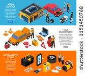 car service horizontal banners... | Shutterstock .eps vector #1151450768