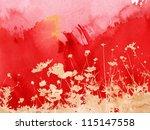 Multicolor Foliage Background...