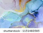 ink  paint  abstract. closeup... | Shutterstock . vector #1151483585