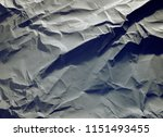 crumpled paper texture... | Shutterstock . vector #1151493455