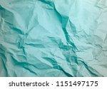 crumpled paper texture... | Shutterstock . vector #1151497175