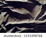 crumpled paper texture... | Shutterstock . vector #1151498768