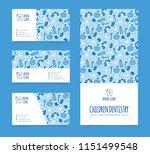 vector template for dentistry.... | Shutterstock .eps vector #1151499548