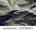 crumpled paper texture... | Shutterstock . vector #1151504072