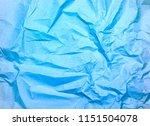 crumpled paper texture... | Shutterstock . vector #1151504078