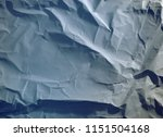 crumpled paper texture... | Shutterstock . vector #1151504168