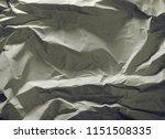 crumpled paper texture... | Shutterstock . vector #1151508335