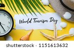 world tourism day typography.... | Shutterstock . vector #1151613632