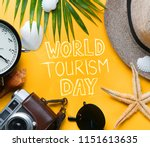world tourism day typography.... | Shutterstock . vector #1151613635