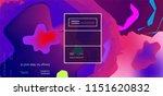 fluid color background. liquid... | Shutterstock .eps vector #1151620832