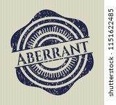 blue aberrant distressed rubber ...   Shutterstock .eps vector #1151622485