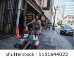 los angeles  usa   august 03 ... | Shutterstock . vector #1151644022