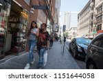 los angeles  usa   august 03 ... | Shutterstock . vector #1151644058