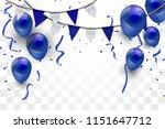 confetti concept design... | Shutterstock .eps vector #1151647712