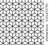geometric pattern. cube...   Shutterstock .eps vector #1151672792