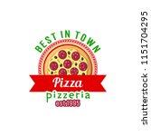 best pizza vector sign.... | Shutterstock .eps vector #1151704295