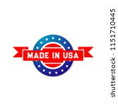 made in usa premium quality... | Shutterstock .eps vector #1151710445