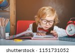 back to school. pupil from... | Shutterstock . vector #1151731052