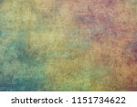 metal fence rusty corroded... | Shutterstock . vector #1151734622