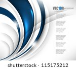 eps10 vector corporate theme... | Shutterstock .eps vector #115175212