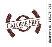 red calorie free distress... | Shutterstock .eps vector #1151754038