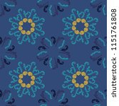 cool branches elegant seamless... | Shutterstock .eps vector #1151761808
