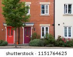 residential terrace houses or... | Shutterstock . vector #1151764625