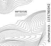 topographical raster background ... | Shutterstock . vector #1151780342