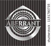 aberrant silvery shiny emblem   Shutterstock .eps vector #1151780735