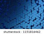 3d illustration abstract dark...   Shutterstock . vector #1151816462