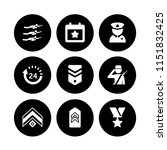 9 flag icons in vector set. day ... | Shutterstock .eps vector #1151832425
