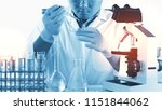 scientists and scientific...   Shutterstock . vector #1151844062