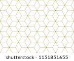 vector ornamental seamless... | Shutterstock .eps vector #1151851655