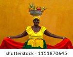 cartagena de indias  colombia   ...   Shutterstock . vector #1151870645