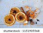 An Arrangement Of Three Dried...