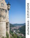 wall of the lichtenstein castle ... | Shutterstock . vector #1151913458