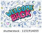 concept of education. school... | Shutterstock .eps vector #1151914055