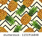 beautiful hand drawn seamless  ... | Shutterstock .eps vector #1151916848
