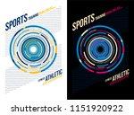 t shirt design sports athletic... | Shutterstock .eps vector #1151920922